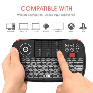 Image 3 - Rii i4 Mini Russian Keyboard 2.4G Bluetooth Dual Modes Handheld Fingerboard Backlit Mouse Touchpad Remote Control for TV Box PC