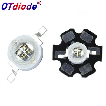5W podczerwieni IR 940NM diody LED o dużej mocy nadajnika 4 układu DC1 4-1 7V 1400mA z 20mm PCB na noc kamera tanie i dobre opinie OTdiode Piłka IR 940NM LED 1200mA 1 2-1 4V