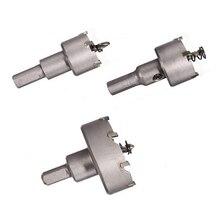 цена на 3pcs 26mm 30mm 53mm Drill Bit Hole Saw Set Carbide Tip Metalworking Cutter Tool Wood Drilling Tools