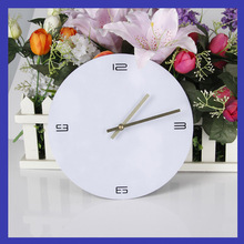 цена на New Style Creative DIY Acrylic Wall Clock Living Room Home Clock TV Backdrop Decoration