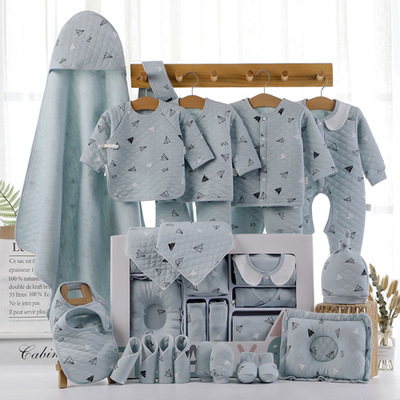 22/18pieces/0-3months Toddler Newborn Baby Clothing 100%cotton Kids Clothes Suit Unisex Infant Boys Girls Clothing Set For Gift