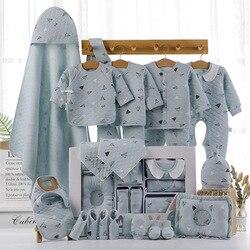 Vêtements unisexe pour bébés et filles | 22/18 pièces/0-3 mois, tenue pour enfants 100% coton, ensemble de vêtements cadeaux