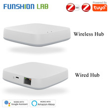 Tuya ZigBee Smart Gateway Hub Smart Home Bridge Smart Life APP Wireless Remote