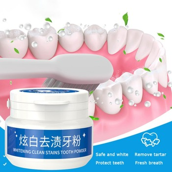 Bamboo Activated Charcoal Powder Teeth Whitening 30g Powder Stain Remove Oral Hygiene Dental Tooth Care 30g tooth whitening powder activated bamboo charcoal toothpaste tartar stain removal natural teeth whitening charcoal powder