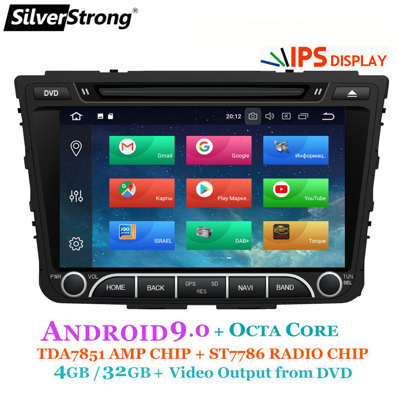 SilverStrong OctaCore 4G Android9 0 Creta Car DVD For Hyundai ix25 Creta GPS Radio Media Player