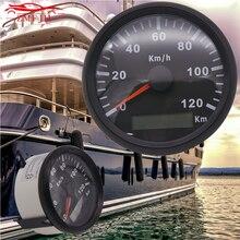 85mm 12V 24V Boat GPS Speedometer 120kmh 200kmh Digital Odometer for Truck Boat Car Speedometer IP67 Waterproof цена