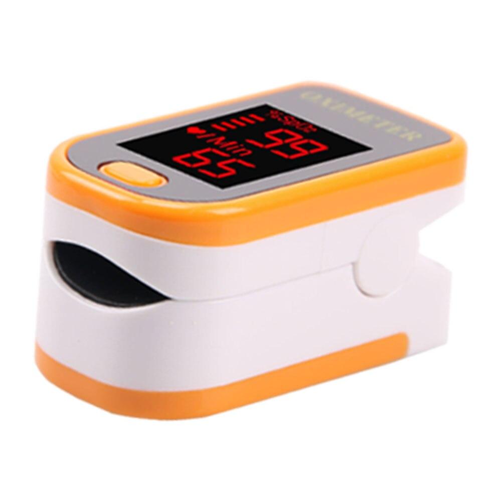 Fingertip Oximeter UV Portable Oxygen Monitor Blood Finger Pulse Saturation Medical