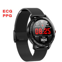 L9 ECG PPG Smart Watch Men Sports Heart Rate Bluetooth Smartwatch Waterproof IP6