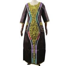 Md африканские платья bazin для женщин молодых девушек kanga