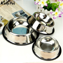 Dog Cat Bowls Stainless Steel Travel Footprint Feeding Feeder Water Bowl For Pet Cats Puppy Outdoor Food Dish
