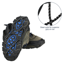 1 para antypoślizgowe śnieg Ice Gripper buty wspinaczkowe kolce uchwyty raki knagi kalosze raki Spike buty raki Outdoor tanie tanio LIXADA CN (pochodzenie)