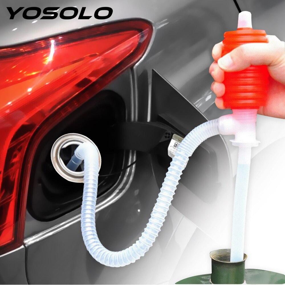 자동차 트럭 연료 오일 가솔린 디젤 전송 빨판 핸드 펌프에 휴대용 범용 수동 사이펀 흡입 물 화학 액체 펌프