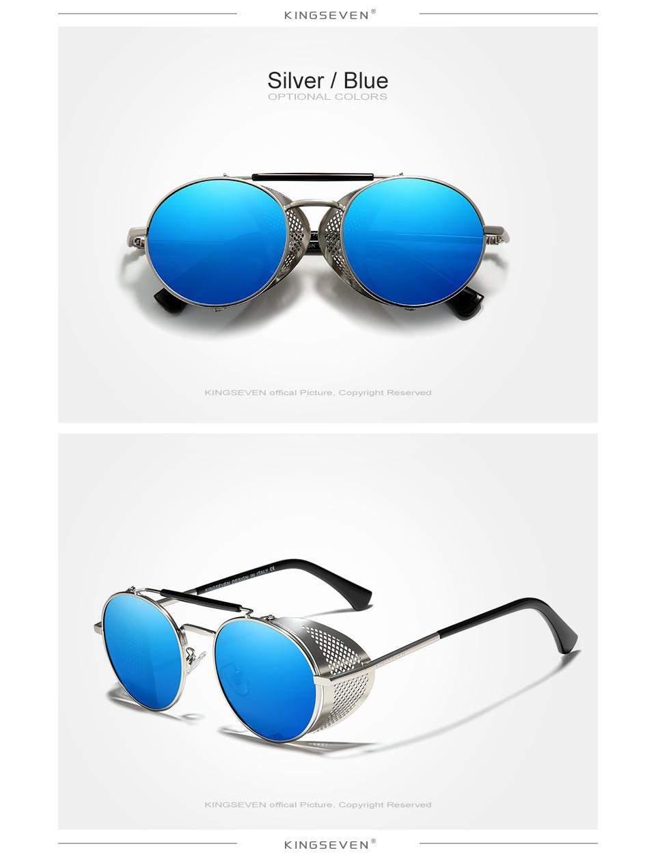 He29f8653945b4f7fbff95b9bfe2760f9p Genuine GIFTINGER Retro Round Steampunk Sunglasses Men Retro Women Sun Glasses Shades Vintage Travel Eyewear Gafas De Sol 7550