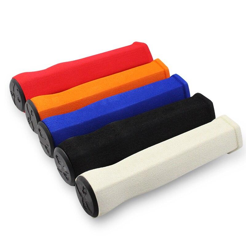 Ergonomic MTB Bike Handlebar Grips High Density Soft Sponge Folding Bicycle Anti-skid Handle Bar End Covers