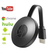 Newst HD 1080P Wi Fi Tampilan Dongle YouTube AirPlay Miracast TV Stick untuk Google Chromecast 2 3 Chrome Crome Cast cromecast 2(China)