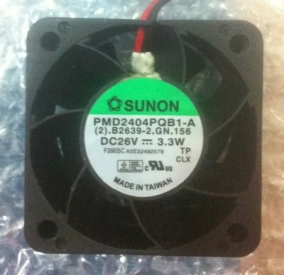 Brand New Original PMD2404PQB1-A 4028 24V 26V 3.6W 4.1W 2-wire Inverter Fan