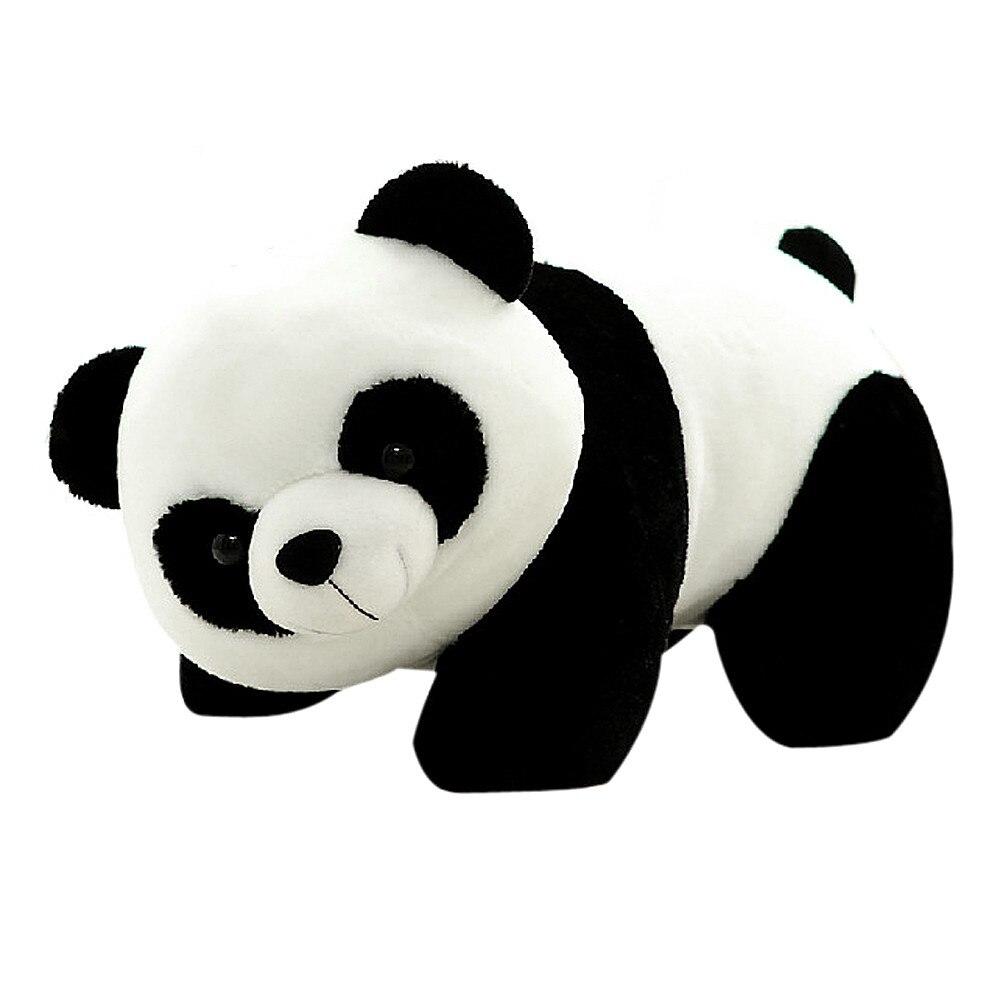 1 adet 16cm güzel sevimli süper dolması hayvan yumuşak Panda peluş oyuncak doğum günü noel bebek hediyeleri hediye için doldurulmuş oyuncaklar çocuklar
