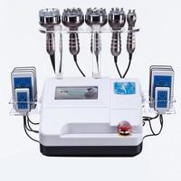 2019 40k RF Skin Care Salon Spa Equipment Ultrasonic liposuction Cavitation 8 Pads LLLT lipo Laser Slimming Machine Vacuum