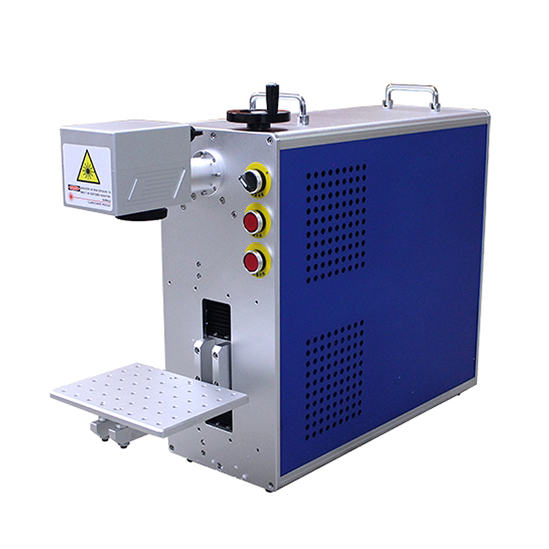 LY portable mini all in one fiber laser nameplate Marking machine Super-laser Max Raycus engraver engraving machine