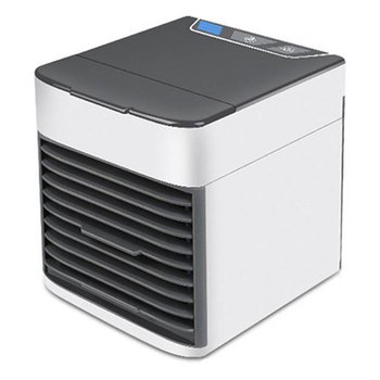 Mini Air Cooler Personal Space Air Conditioner With Soothing Led Light Humidifier For Home Office Use