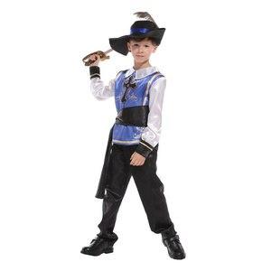 Image 3 - Dzieci dziecko średniowieczny książę król wojownik renesansowy średniowieczny muszkieter krzyżowiec kostiumy dla chłopców Halloween Carnival Party