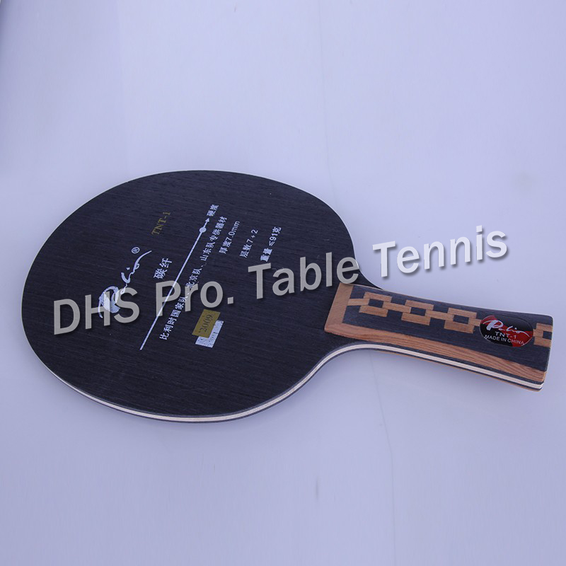Palio TNT-1 (TNT1) TNT 1 7 Wood+4 Carbon Table Tennis Blade For PingPong Racket