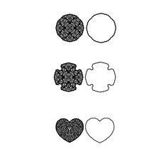 2019 New Metal Steel Cutting Dies Circle Four-leaf Heart Shape Frame For DIY Scrapbooking Paper/photo/Album Cards Embossing