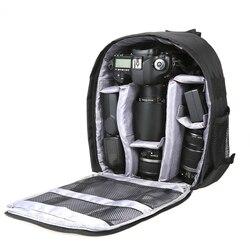 Multi-functional Camera Backpack Video Digital DSLR Bag Waterproof Outdoor Camera Photo Bag Case for Nikon Canon Sony Photo Bag
