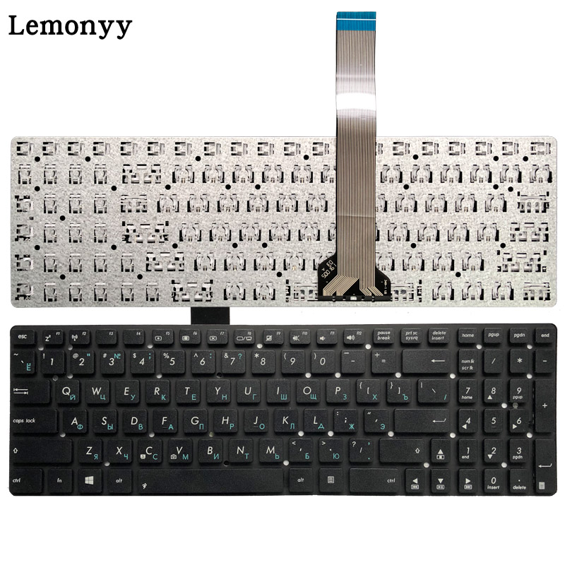 Russian RU Keyboard FOR ASUS X751 X751L X751LA X751LAV X751LD X751LDV X751LK X751LN Laptop Black