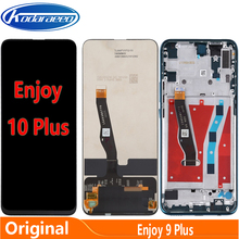 For Huawei Enjoy 10 Plus STK-AL00 STK-TL00 LCD Screen Display Digitizer Touch With Frame Replacement Enjoy 10Plus LCD Glass