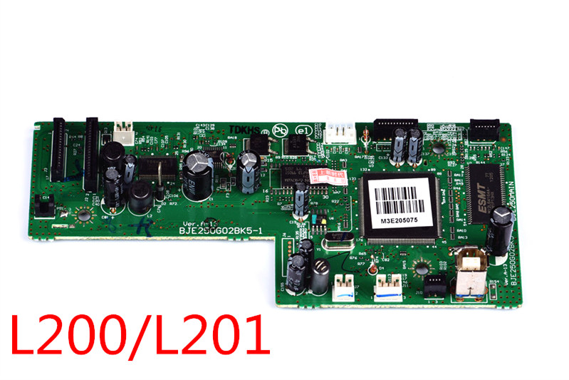 Mainboard Mother Board For <font><b>Epson</b></font> L220 L210 L355 L365 L100 <font><b>L200</b></font> L300 L455 L555 L565 L475 <font><b>Printer</b></font> Formatter Board image