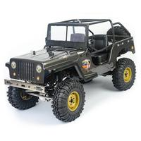 RCtown RGT EX86010 CJ 1/10 2.4G 4WD Crawler Climbing Car RC Car Vehicle Models Off Road Drift RC Rock Crawler Toy for Kids Toys