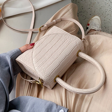 Stone Pattern PU Leather Crossbody Bags For Women 2021 Luxury Quality Shoulder Simple Bag Lady Designer Handbags Totes
