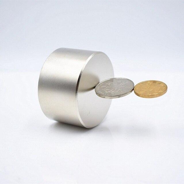 N52 Neodymium מגנט 50x30mm סופר חזק מגנטים 40x20mm עגול קבוע חזק מגנטי נדיר Earth ndFeb חם גליום מתכת