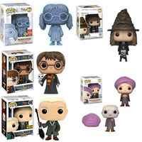 Funko POP Film HP7 Action Figure Spielzeug Luna Dobby RON WEASLEY Harri Potter Severus Snape PROFESSOR Quirrell Sammeln Geschenk Spielzeug