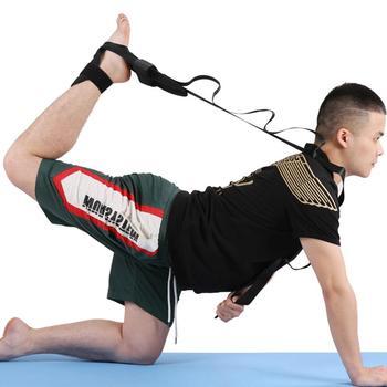 Pilates pas do jogi multi-loop ćwiczenia rozciągliwy pasek z haczykiem na stopy utrzymuj dopasowanie fizykoterapia pas do tańca elastyczność szkolenia tanie i dobre opinie CN (pochodzenie) yoga stretch strap Blindly Drop ship Wholesale CSV order