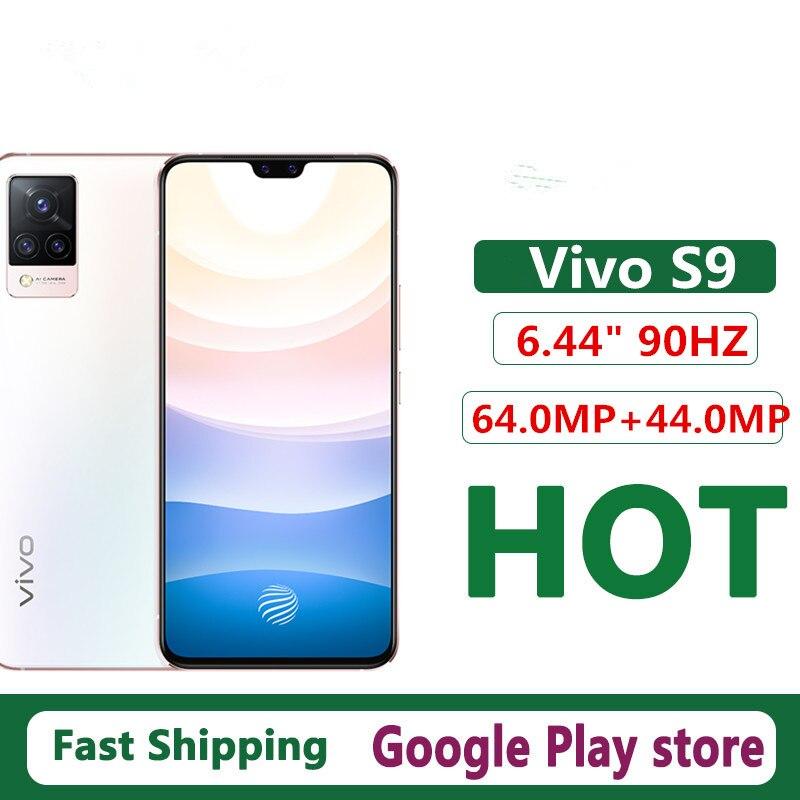 Новый Vivo S9 5G сотового телефона NFC Экран отпечатков пальцев 6,44