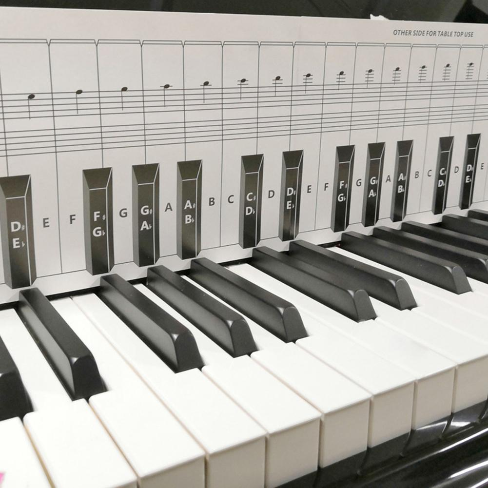 Kalimba 88 مفاتيح البيانو ميدي لوحة المفاتيح مع ملاحظة الرسم البياني التعلم المعونة مجموعة وراء مفاتيح البيانو الموسيقية الملحقات