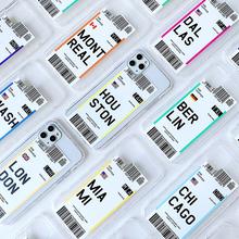 Etui na telefon silikonowe modne TPU z zabawnym biletem z różnych miejsc na świecie do iPhone 6 plus 7 8 8plus 11 Pro X XS XR MAX tanie tanio Anti-knock Aneks Skrzynki New phone case Apple iphone ów IPhone 7 IPhone 7 Plus IPHONE 8 PLUS IPHONE X IPHONE XS MAX IPHONE XR