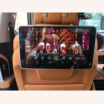 11.6 Inch Android 9.0 Car TV Screen Headrest Monitor With Wifi Bluetooth USB SD FM MP5 4K Video Player For BMW F52 F82 F87 F90 car dvd player with 9 inch car headrest dvd player monitor with 800 480 touch screen speaker support usb sd games remote control