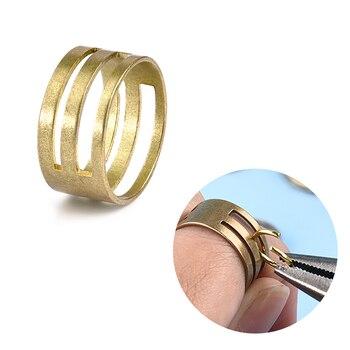Abridor de anillo de cobre, herramienta de cierre de joyería, anillo para DIY, herramienta de búsqueda de joyería, accesorios