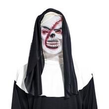 Высокая костюмы для Хэллоуина Косплей смерть Мрачный Жнец костюм вечерние с Screepy силиконовая маска DOG88