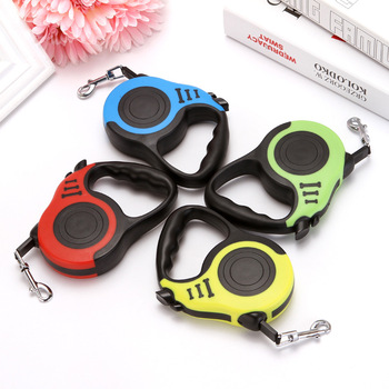Dog leads Pet supplies traction rope automatic retractable dog chain Teddy small medium-sized dog dog rope chain dog rope