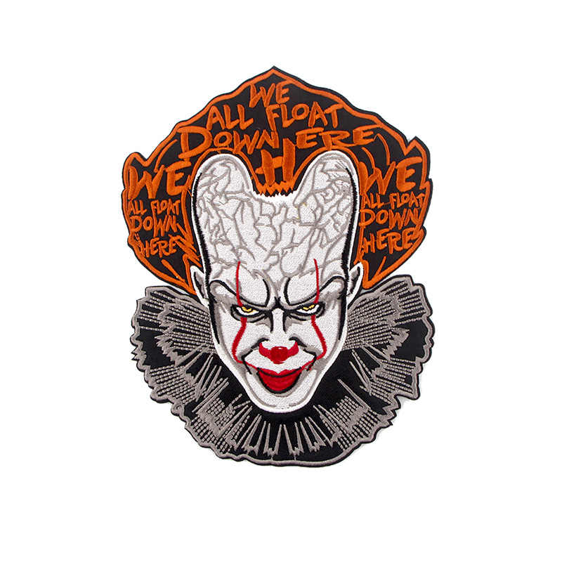 Stephen King Ini Horor Patch Besi Pakaian Diy Bordir Lencana Jahit Bordiran Patchwork Punk Stiker Dekorasi E0777