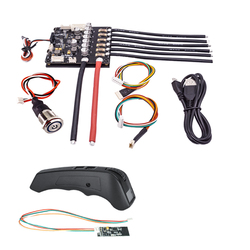 Двойной FSESC6.6 Plus + цветной экран дистанционного управления VX2 PRO Combo для электрического регулятора скорости Flipsky Longboard DIY аксессуары
