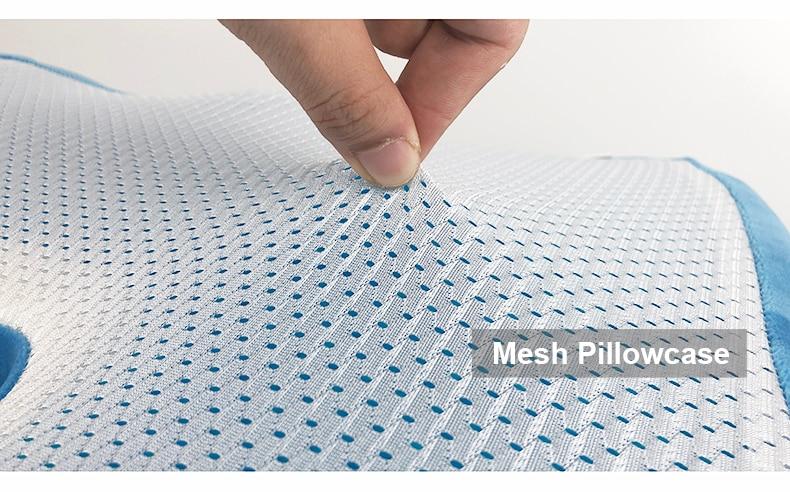 PurenLatex 4636 U Shape Silicone Gel Cushion Memory Foam Pillow Coccyx Protect Slow Rebound Summer Cool Chair Cushion Seat Mat-xq (12)