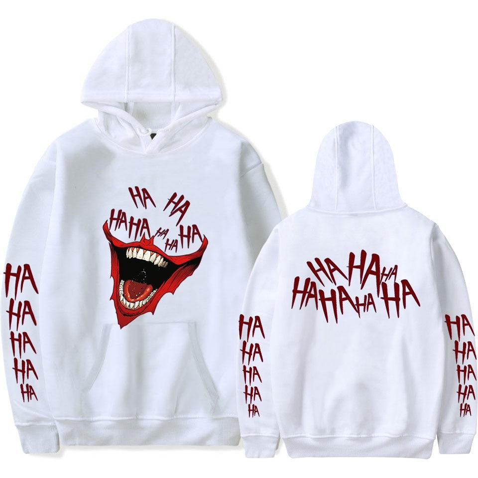 Haha Joker 2D New Design Printed Winter/autumn Warm Hooded Sweatshirt For Women/Men Software Hot Sale Hoodies Sweatshirt Max 4XL