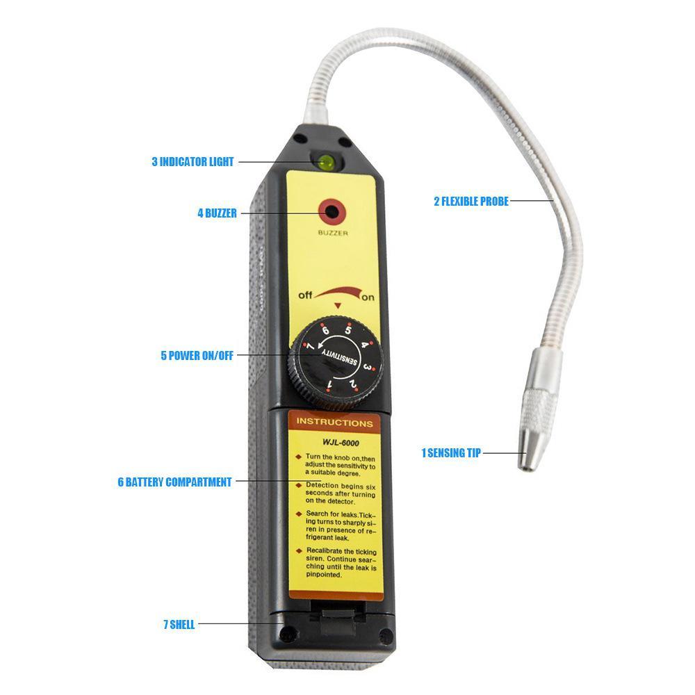 C R134 R410a R22 Air Gás HVAC Ferramenta Preto