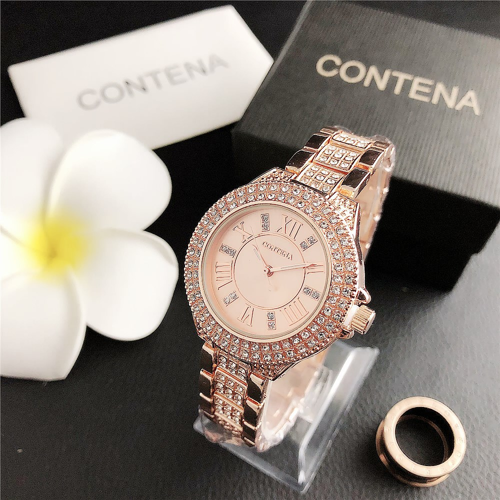 Luxury Brand Ladies Watch 2020 Fashion Crystal Women's Watches Steel Belt Female Wrist Watches Diamond Clock Relogio Feminino