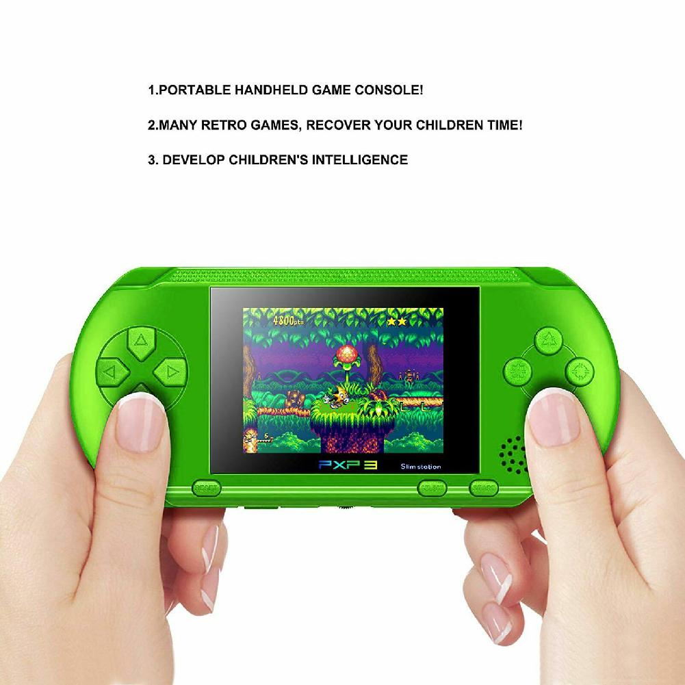 2.8 Inch 16 Bit PXP3 Slim Station Handheld Game Console Built-In 150 Classic Games Retro Video Game Player Children Kids Toys Pakistan